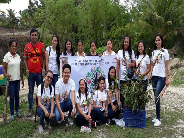 Tree Planting with Former Registered Children