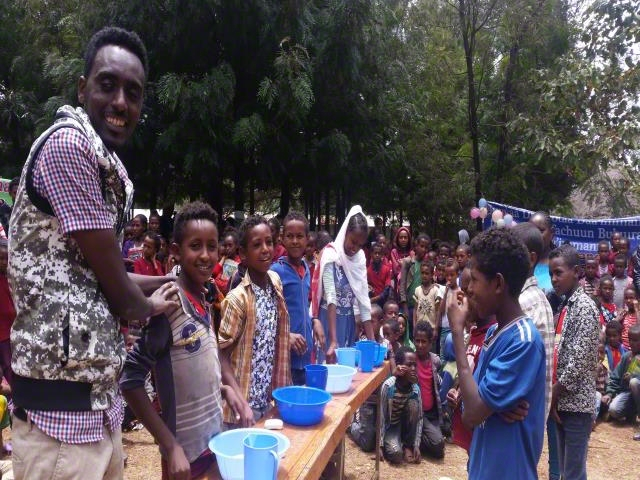 shool basedHandwashing celebration
