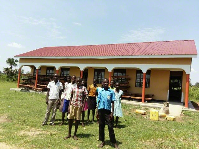 Construction of classroom  block