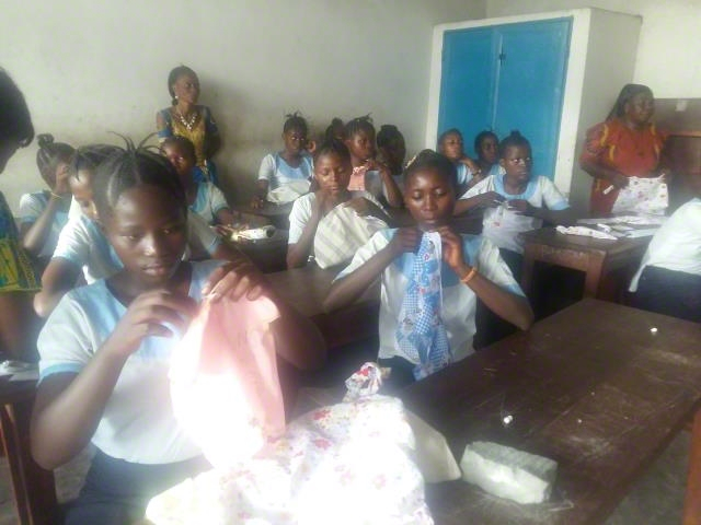 World Vision supported the young ladies center