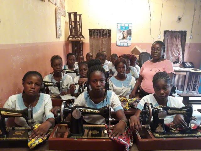 Sewing and cutting training