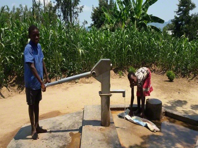 Cleaning Borehole to Access Safe Water
