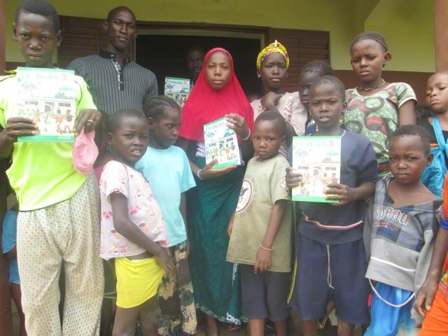 Distribution of Literacy Books Project