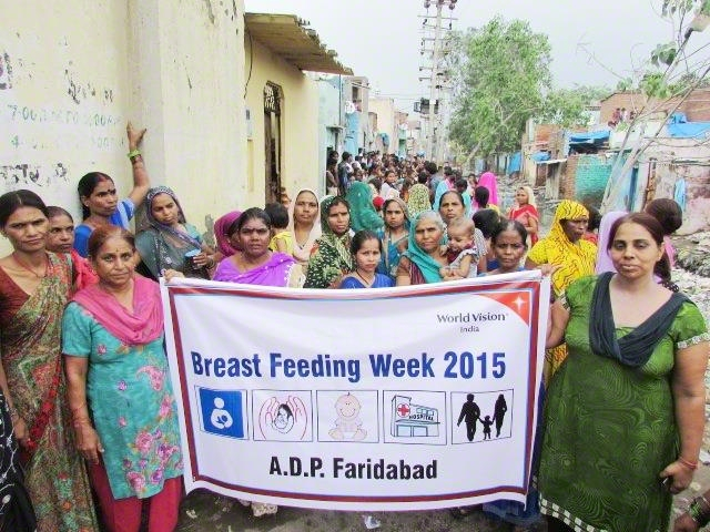 Celebrating breast feeding awareness week
