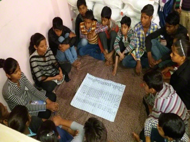 Children Group Formation and meeting