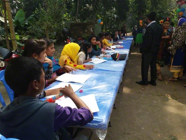 Drawing competition on child rights issues