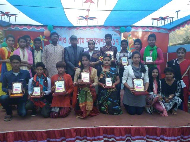 Winner Participants on child forum gathering