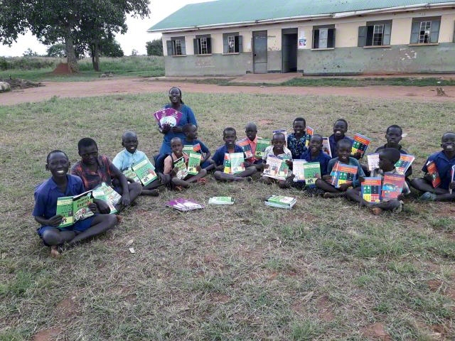 Supported with schools with text book.