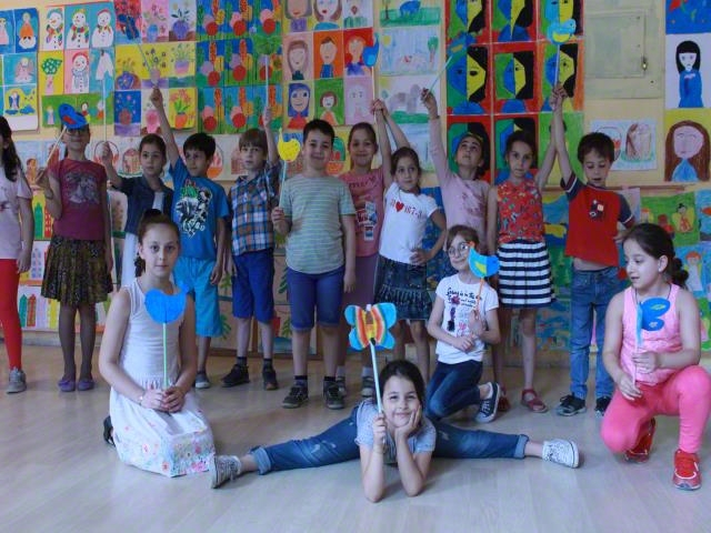 Exhibition of Children's Paintings and Crafts