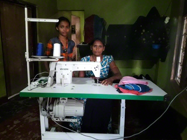 Sewing Machine Support